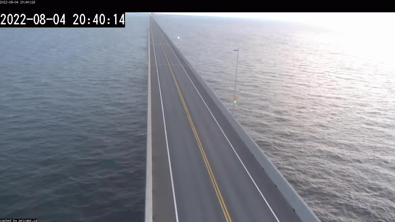 Web Cam image of Confederation Bridge